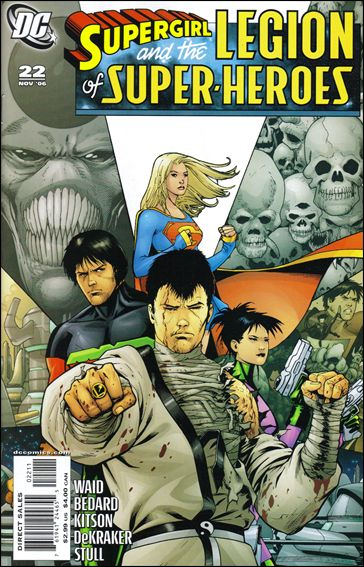Supergirl and the Legion of Super-Heroes 22-A by DC