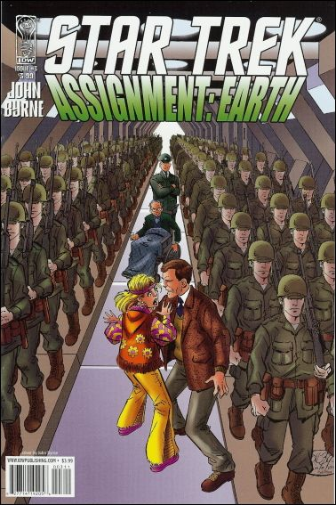 Star Trek: Assignment Earth 3-A by IDW