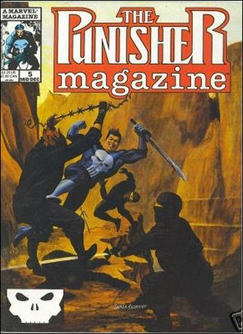 Punisher Magazine 5-A by Marvel