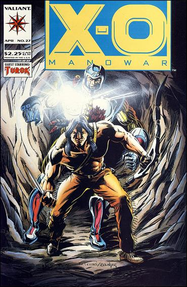 X-O Manowar (1992) 27-A by Valiant