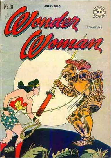 Wonder Woman (1942) 18-A by DC