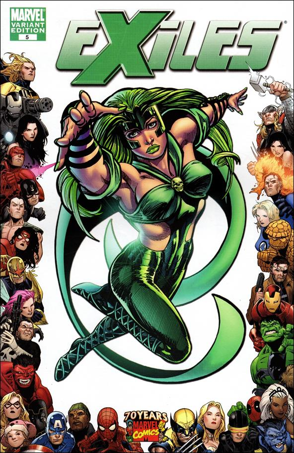 Exiles (2009) 5-B by Marvel
