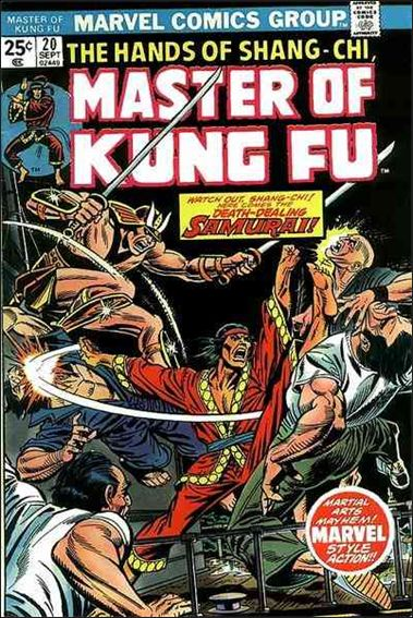 Master of Kung Fu 20-A by Marvel
