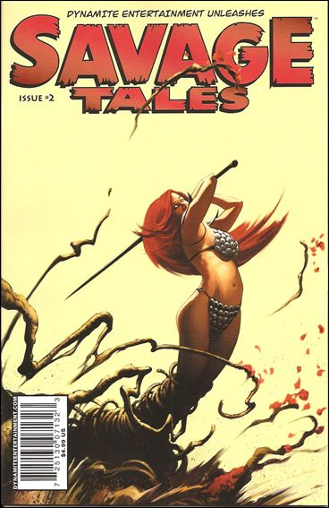 Savage Tales (2007) 2-B by Dynamite Entertainment