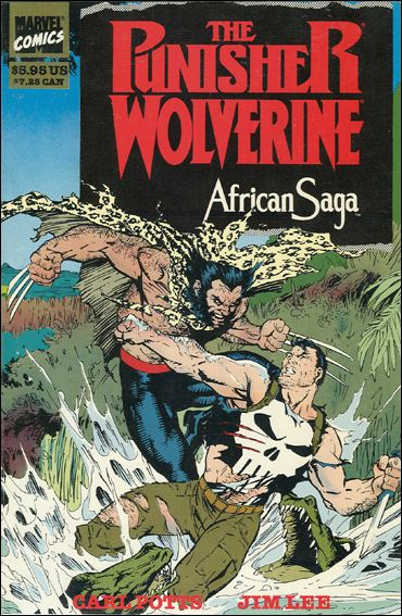 Punisher and Wolverine in African Saga 1-A by Marvel