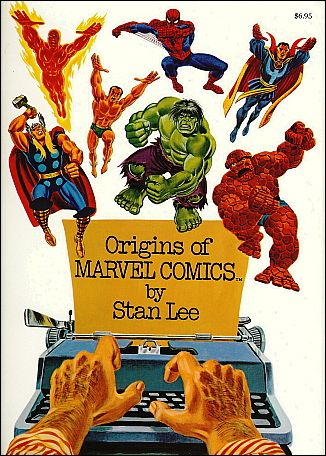 Origins of Marvel Comics 1-A by Simon & Schuster