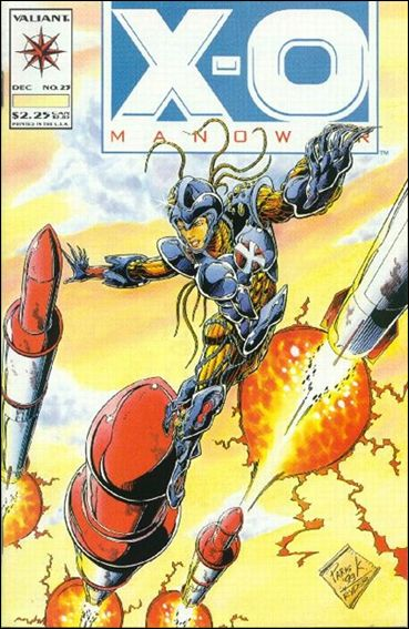 X-O Manowar (1992) 23-A by Valiant