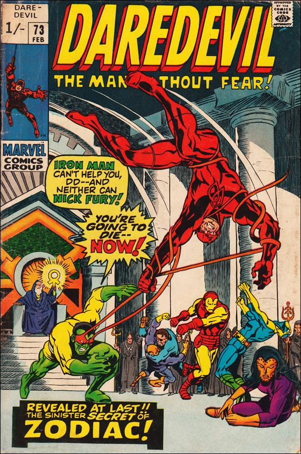 Daredevil (1964) 73-B by Marvel