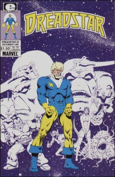 Dreadstar (1982) 22-A by Epic