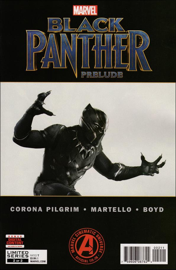 Marvel's Black Panther Prelude 2-A by Marvel