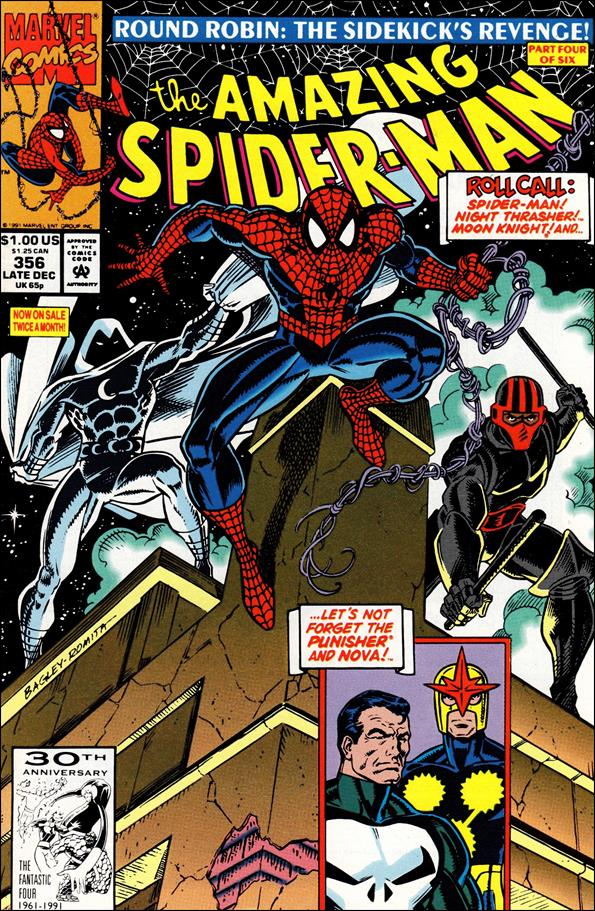 Amazing Spider-Man (1963) 356-A by Marvel