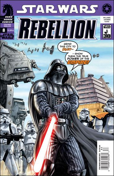 Star Wars: Rebellion 8-A by Dark Horse