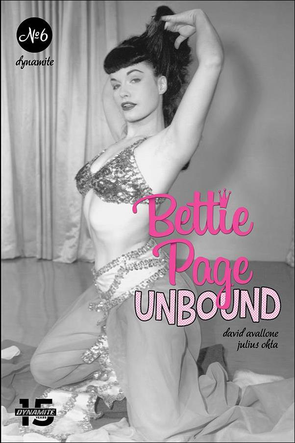 Bettie Page: Unbound 6-E by Dynamite Entertainment
