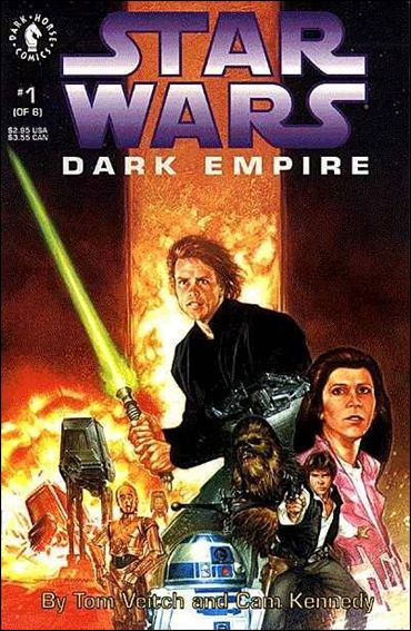 Star Wars: Dark Empire 1-A by Dark Horse