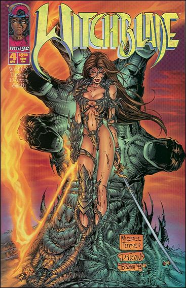 Witchblade 4-A by Top Cow