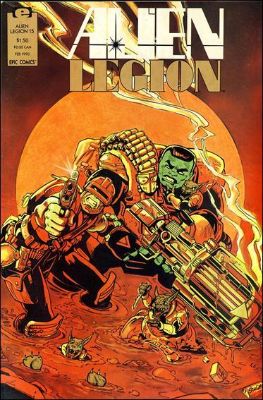 Alien Legion (1987) 15-A by Epic