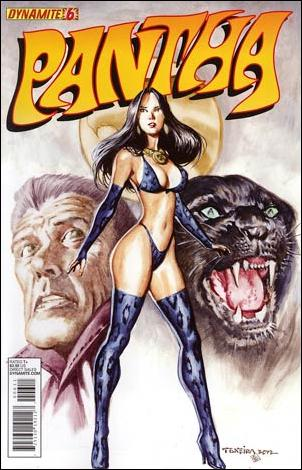 Pantha 6-A by Dynamite Entertainment