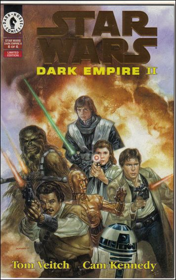 Star Wars: Dark Empire II 6-B by Dark Horse