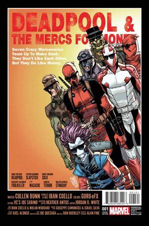 Deadpool & the Mercs for Money (2016/09) 1-B