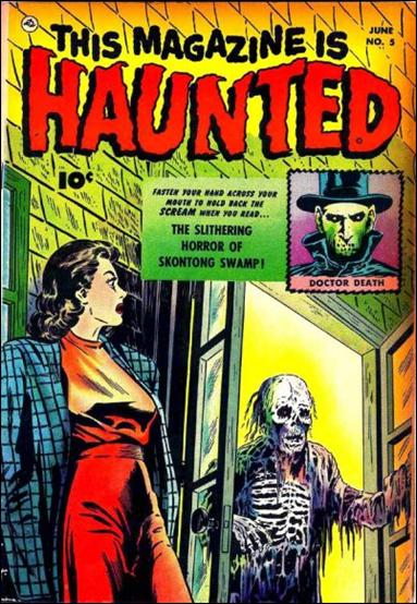 This Magazine is Haunted (1951) 5-A by Fawcett