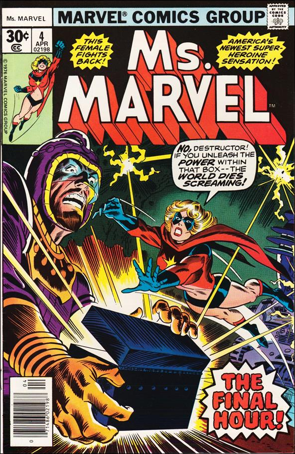 Ms. Marvel (1977) 4-A by Marvel
