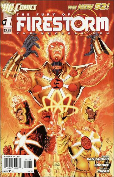 Fury of Firestorm: The Nuclear Men 1-A by DC