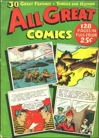 All Great Comics (1944) 1-A by Fox