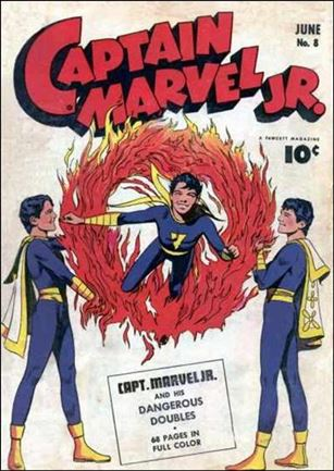 Captain Marvel Jr. 8-A