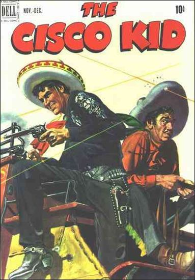 Cisco Kid (1951) 6-A by Dell