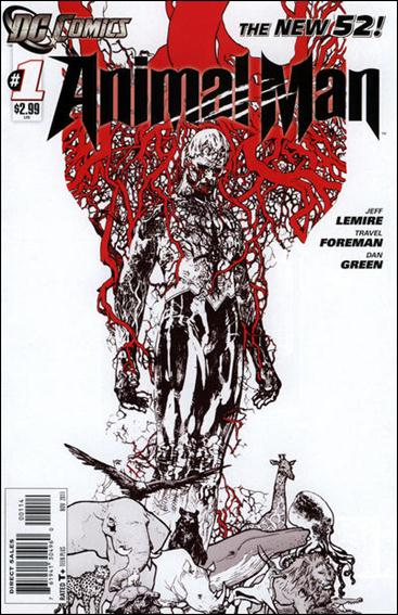 Animal Man (2011) 1-D by DC