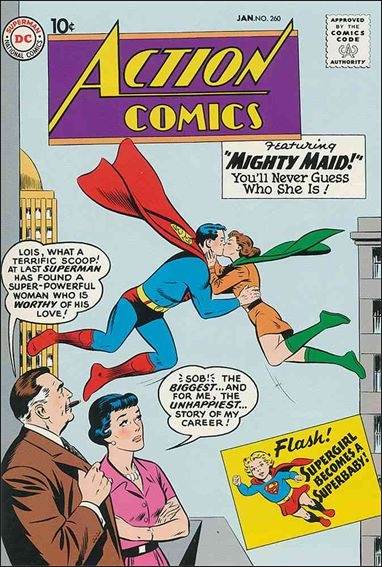 Action Comics (1938) 260-A by DC