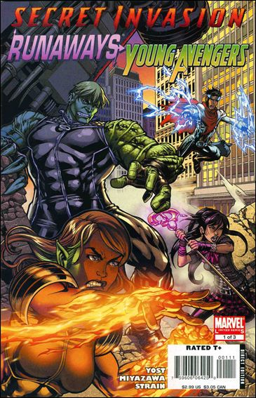 Secret Invasion: Runaways/Young Avengers 1-A by Marvel