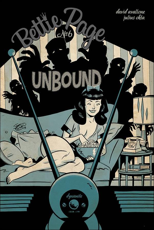 Bettie Page: Unbound 6-B by Dynamite Entertainment