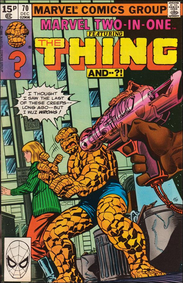 Marvel Two-In-One (1974) 70-B by Marvel