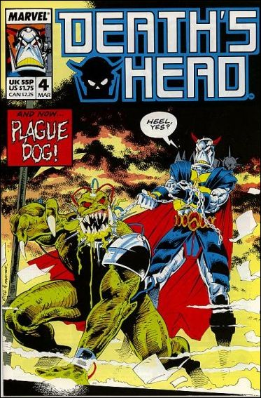 Death's Head (UK) 4-A by Marvel UK