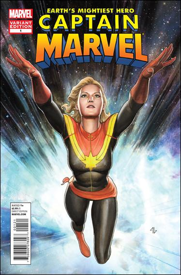 Captain Marvel (2012) 1-B by Marvel