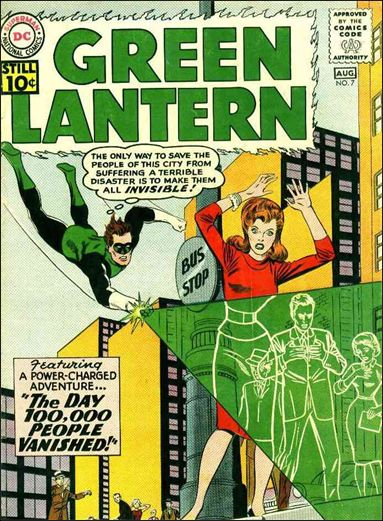 Green Lantern (1960) 7-A by DC