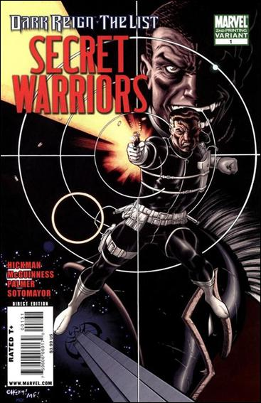 Dark Reign: The List - Secret Warriors 1-C by Marvel