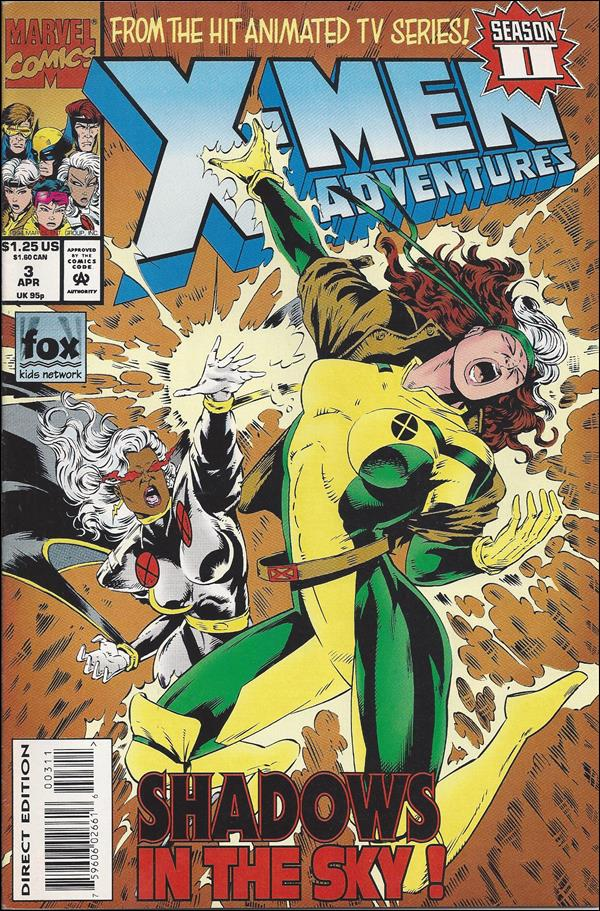 X-Men Adventures (1994) 3-A by Marvel