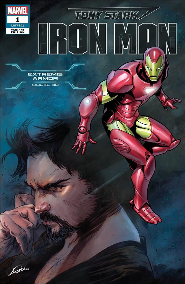 Tony Stark: Iron Man 1-BA by Marvel