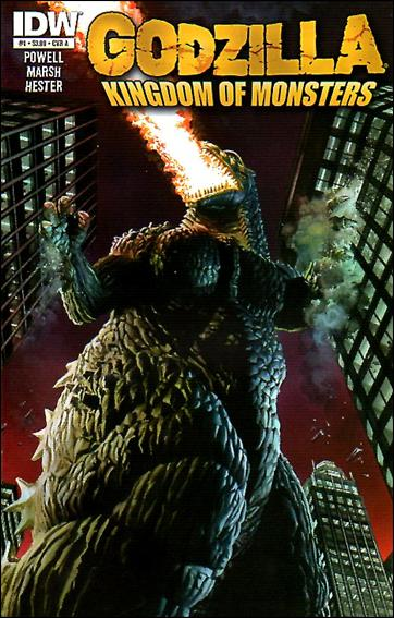 Godzilla: Kingdom of Monsters 1-A by IDW