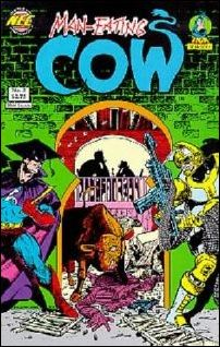 Man-Eating Cow 5-A by New England Comics Press (NEC / NECP)