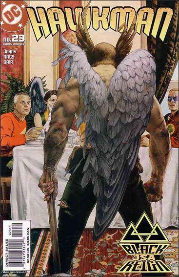 Hawkman (2002) 23-A by DC