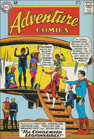 Adventure Comics (1938) 313-A by DC
