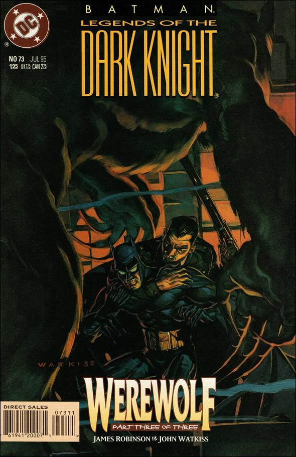 Batman: Legends of the Dark Knight 73-A by DC
