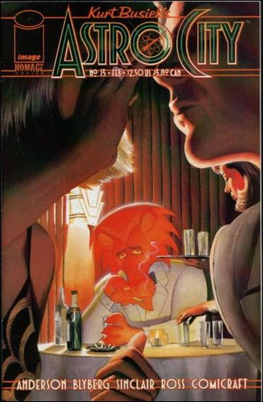 Kurt Busiek's Astro City (1996) 13-A by Homage Comics