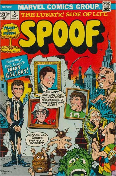 Spoof 5-A by Marvel