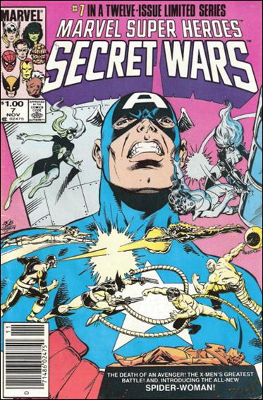 Marvel Super Heroes Secret Wars 7-B by Marvel