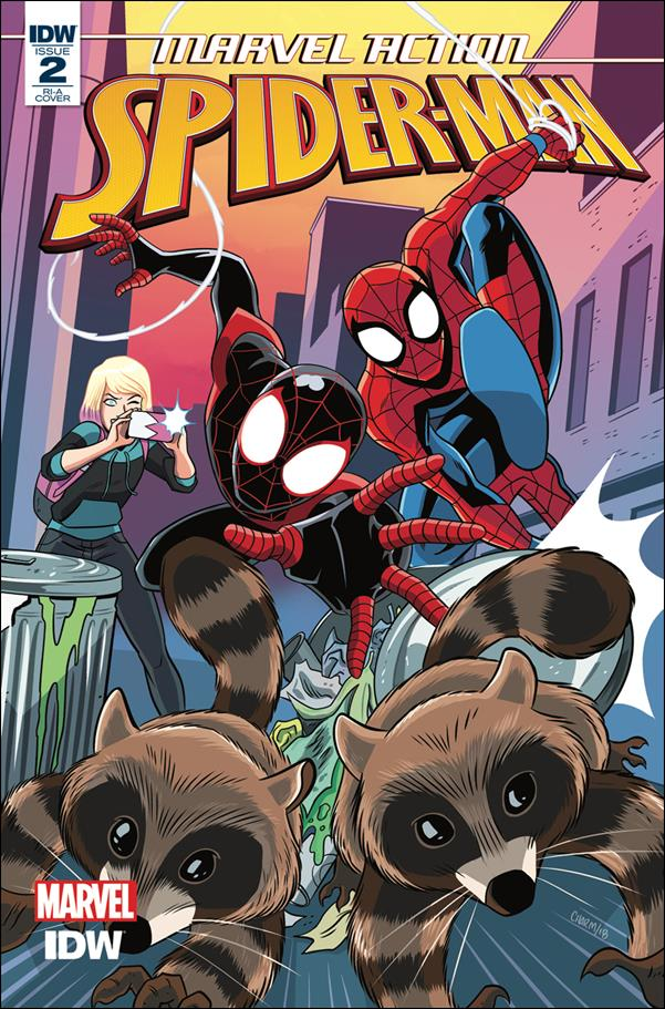 Marvel Action: Spider-Man 2-B by IDW