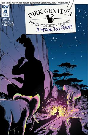 Dirk Gently's Holistic Detective Agency: A Spoon Too Short 4-A